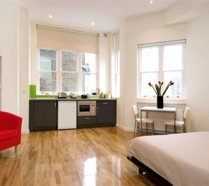 St James House Apartments - Large Double Studio Apartment-0