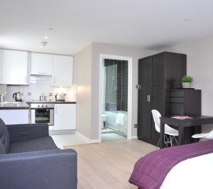 Fulham Road Apartments - Studio Apartment-0