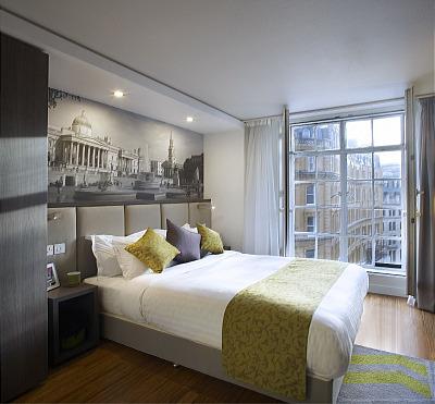 Trafalgar Square Apartments - Studio Twin Apartment-0