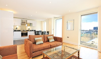 South Quay Apartments - Two Bedroom Penthouse Apartment-15849