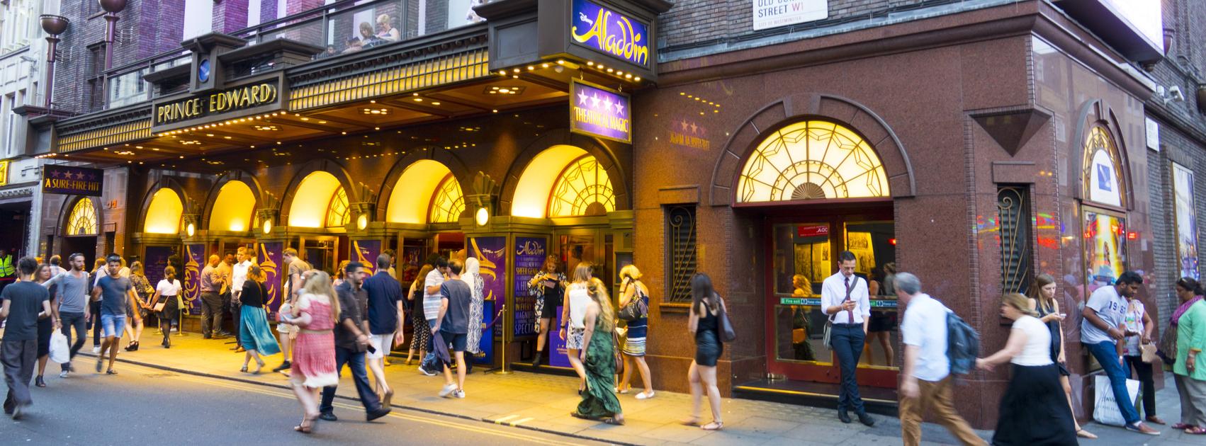 Prince Edward Theatre London
