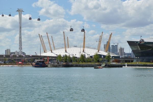 The O2 Greenwich Peninsula