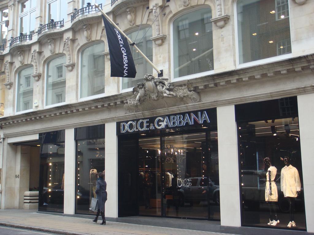 Dolce & Gabbanna New Bond Street Store