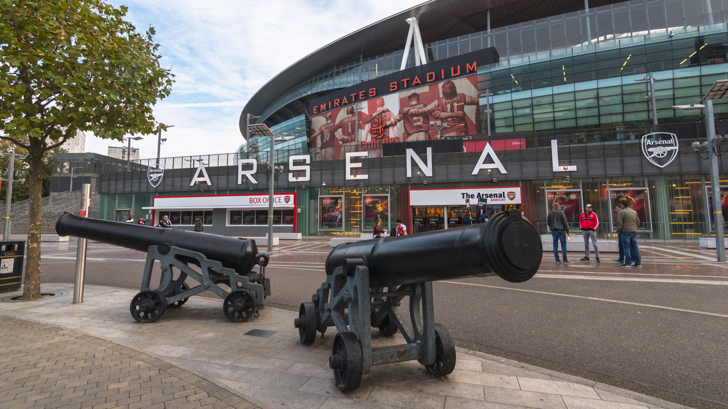 Arsenal FC's Emirates Stadium