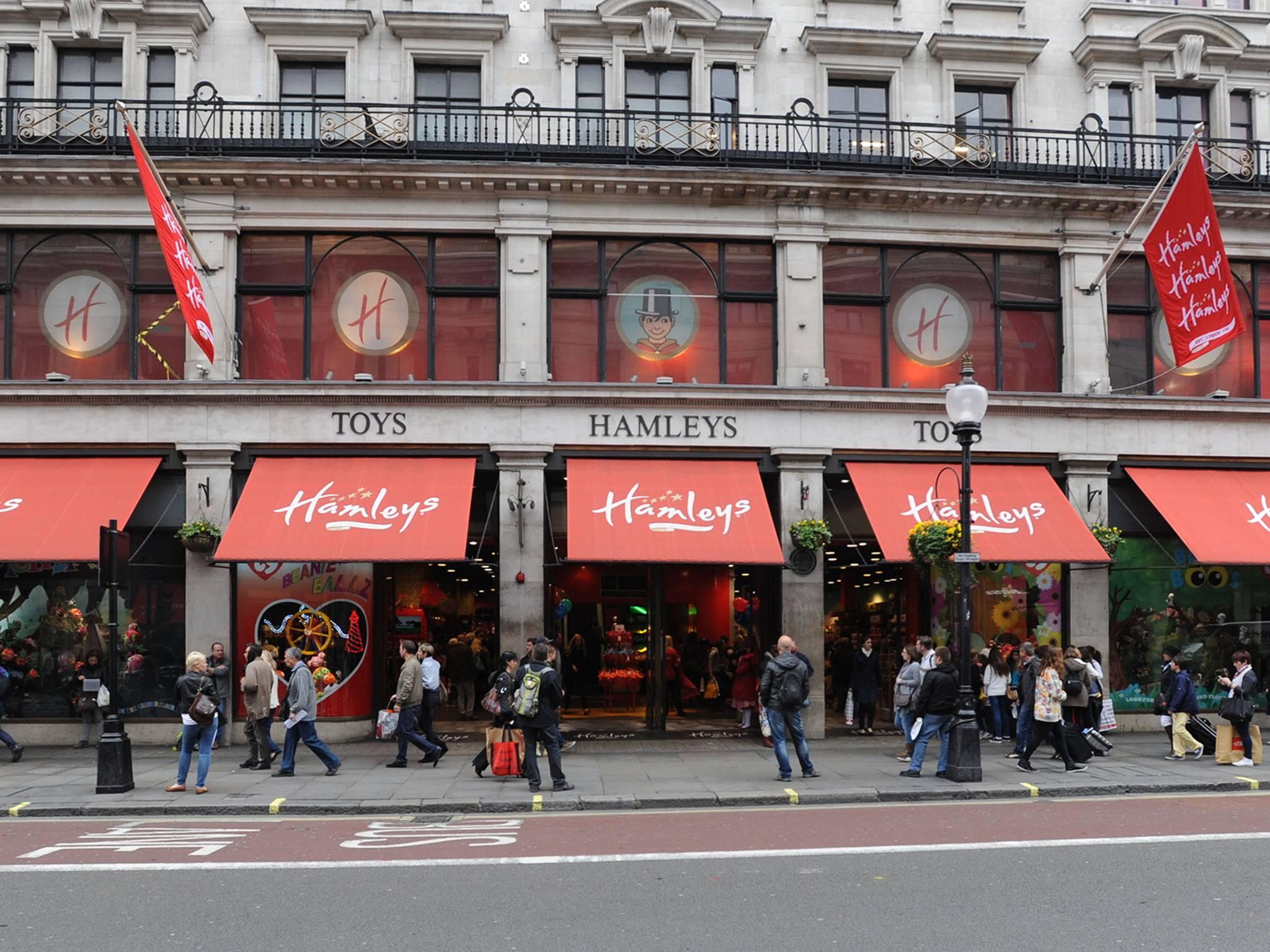 Hamleys Toy Store Regent Street, London