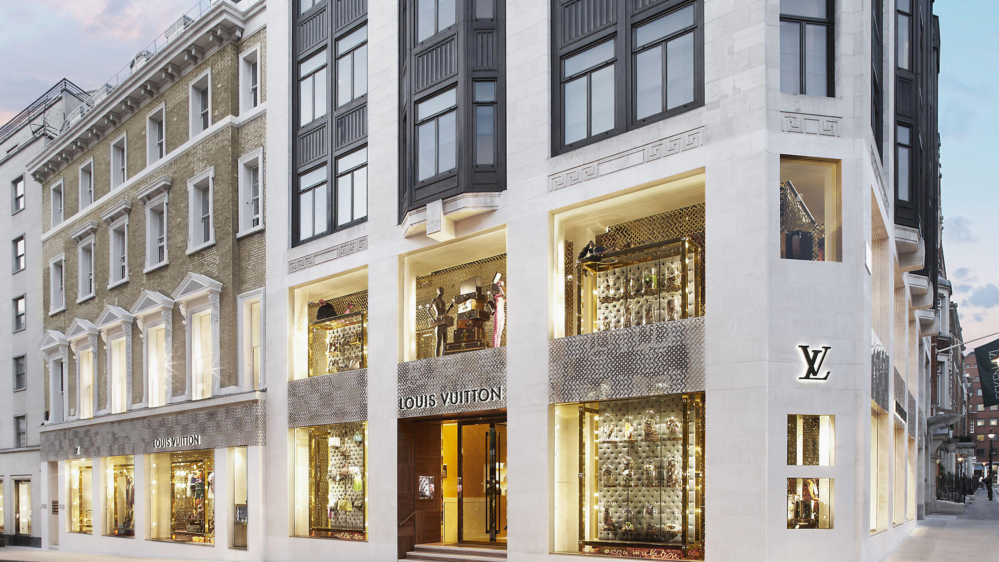 Louis Vuitton on New Bond Street, London