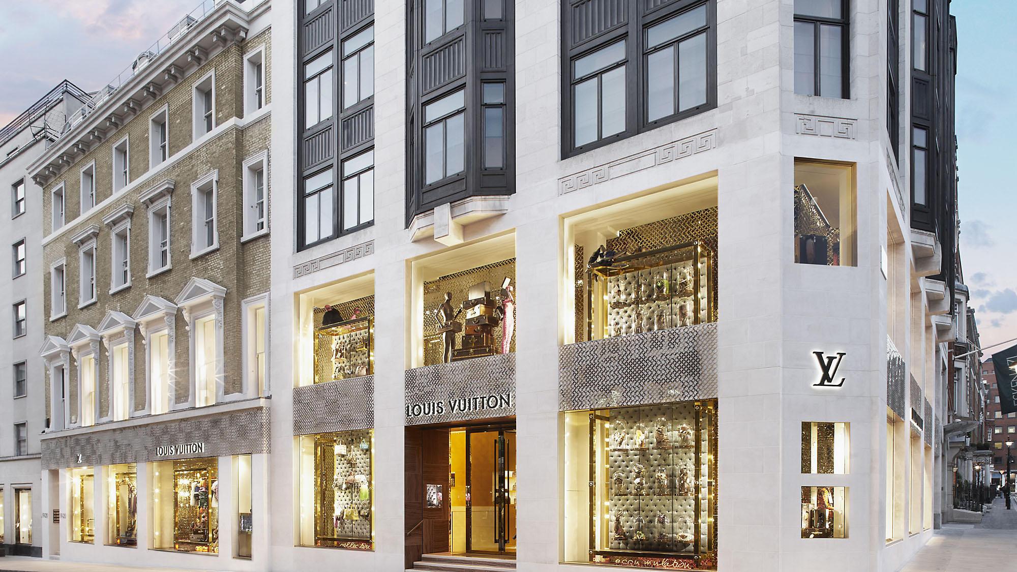 Louis Vuitton on New Bond Street, London